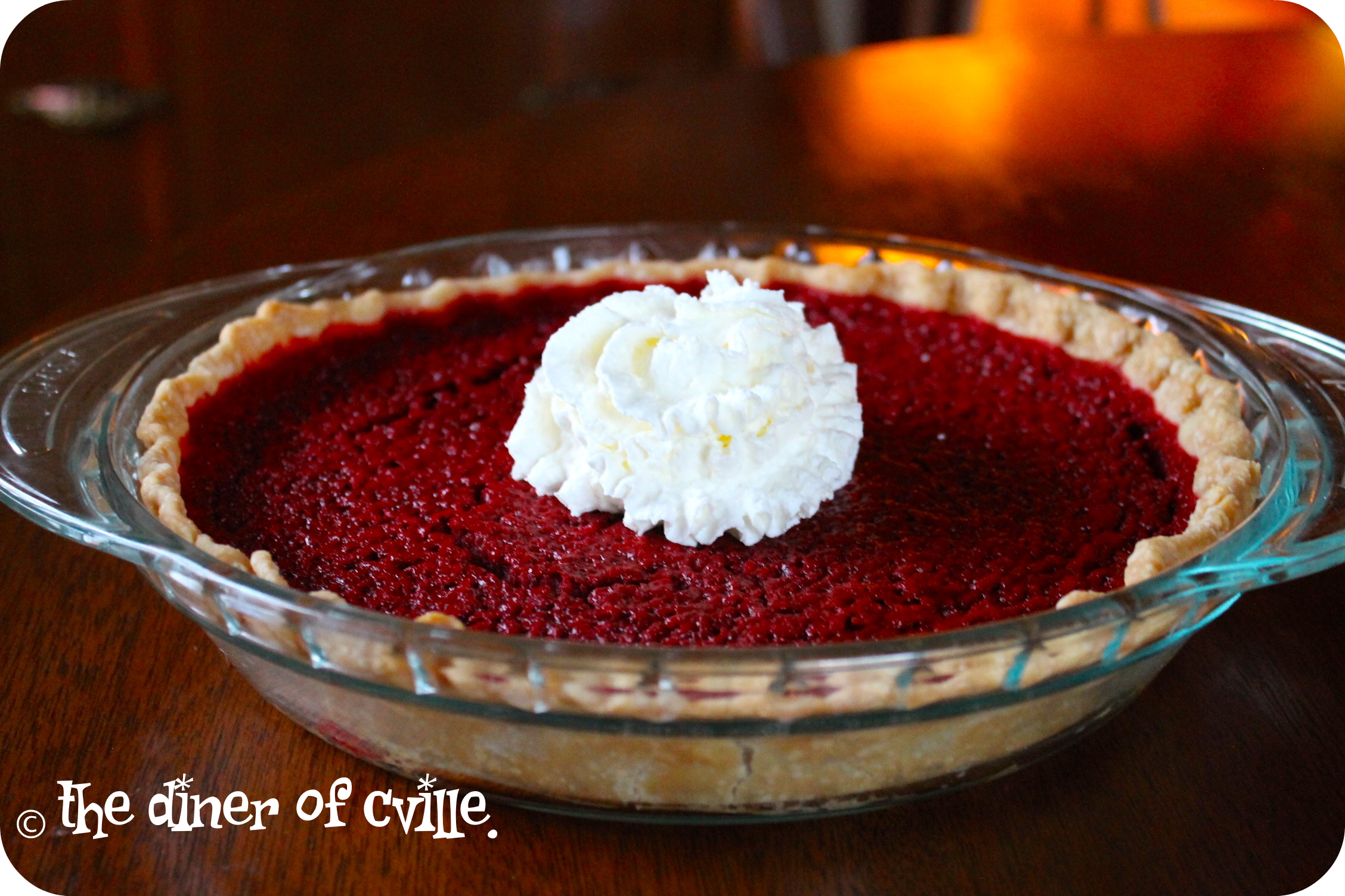 Red Velvet Lovey-Dovey Pie.